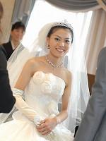 ブライダル ヘアメイクの花嫁 ...