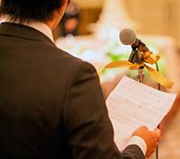 イマドキな結婚式のスピーチ&余興って?