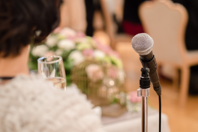 結婚式での乾杯の挨拶の簡単な流れ