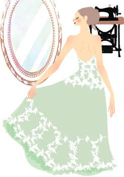 スペシャルなマイウエディングドレスオーダーウエディングドレス