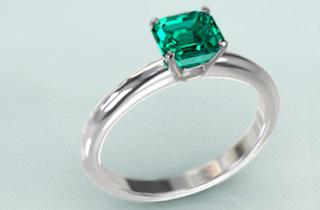 「エメラルド 結婚指輪 画像」の画像検索結果