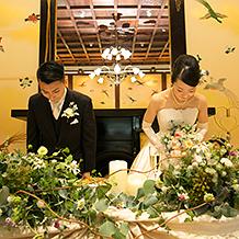faa225a1af9bf 空間、音楽、装花、料理。すべて… 明治神宮・明治記念館の結婚式体験者 ...