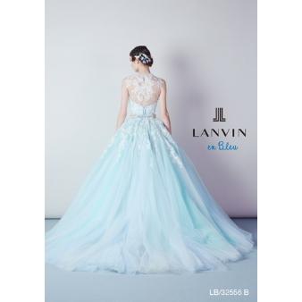 新作☆LANVIN(ランバン)の2WAYブルーカラードレス☆