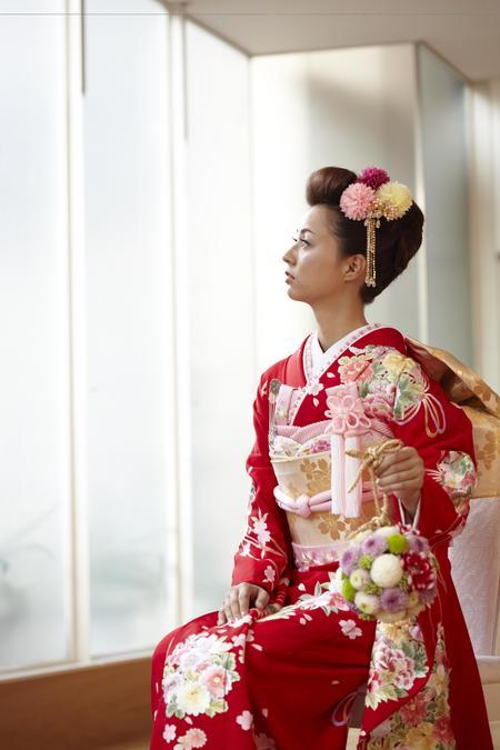 和装 ヘア 花嫁
