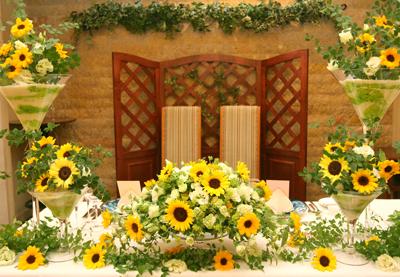 夏を象徴する、 明るく元気いっぱいの花といえば、ひまわり
