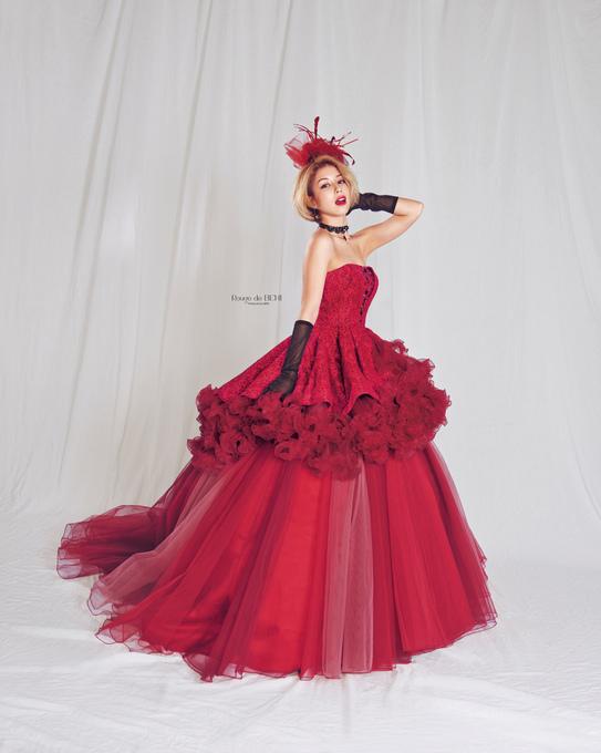 BENI のドレスは可愛くて大人っぽい(*^_^*)