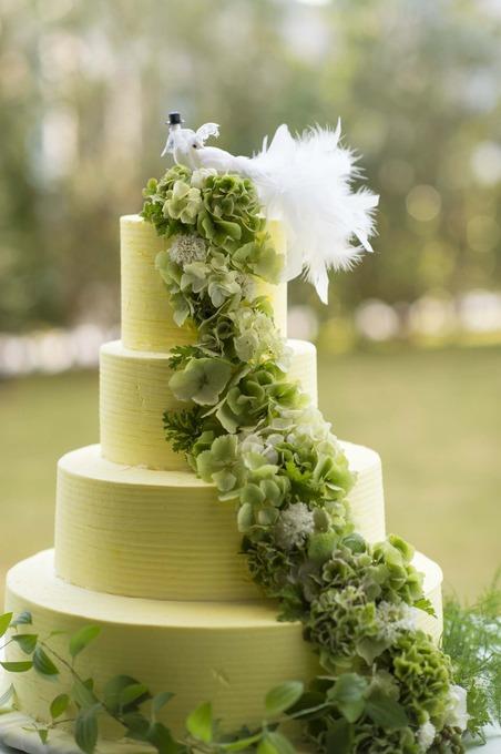Net掲載 緑のケーキ.JPG