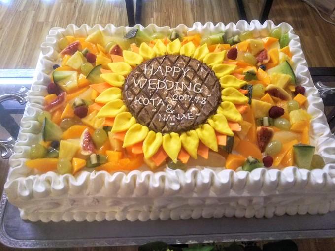 ひまわりケーキ.JPG