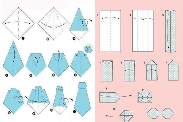 クリスマス 折り紙 折り紙 ネクタイ : zexy.net