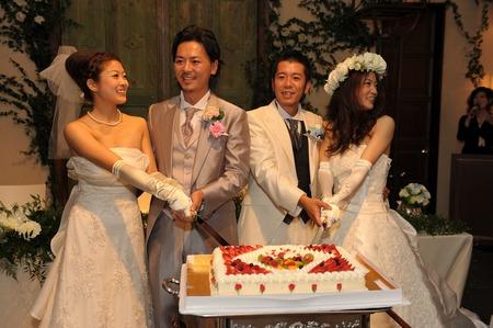 仲良し美人姉妹の合同結婚式☆