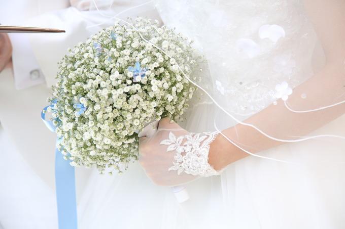 ウェディングブーケ【伊万里市の結婚式場ララシャンス伊万里迎賓館】