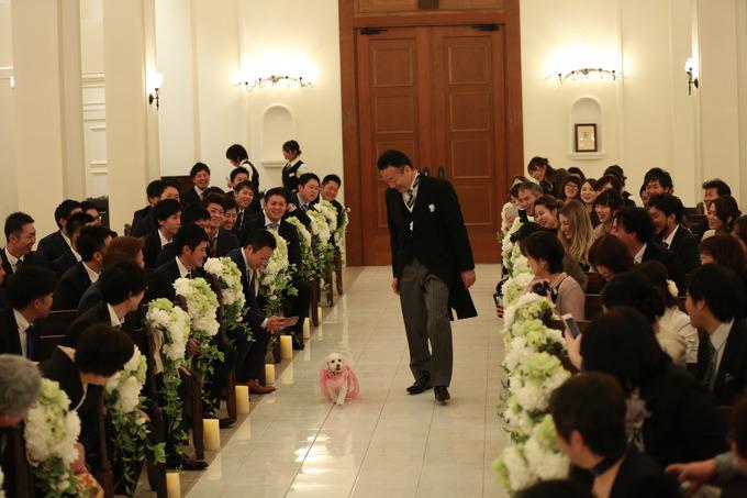 パーティーレポート☆あるお二人の結婚式