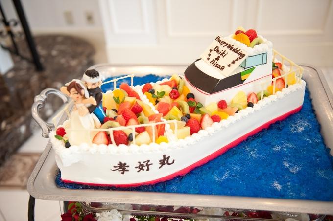 ウェディングケーキで幸せのおすそわけを♡