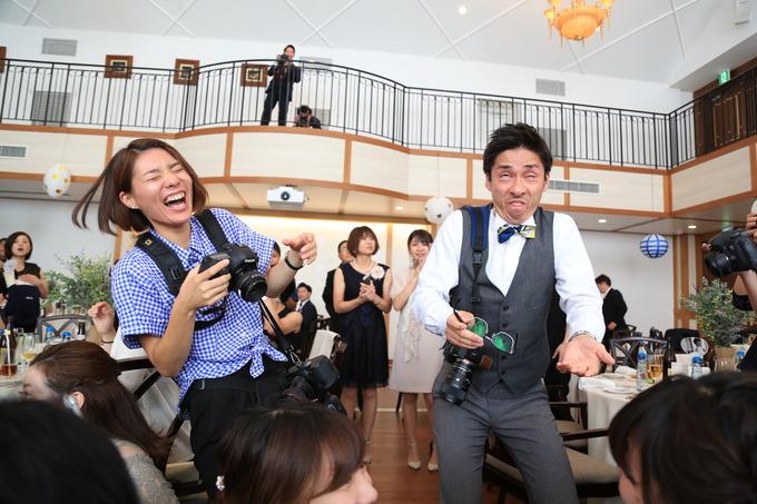 カメラマンの結婚式