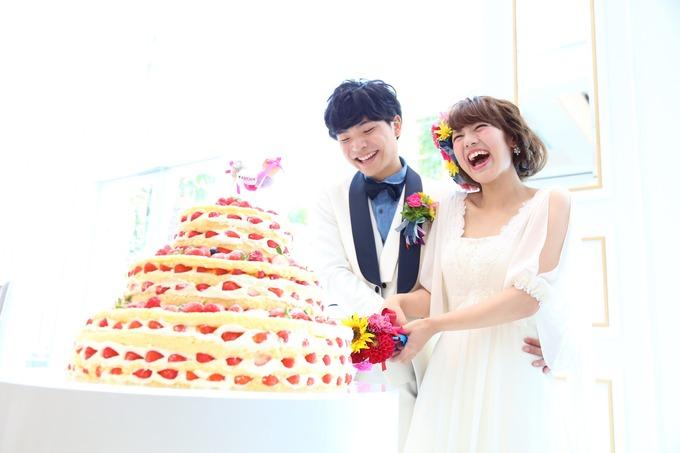 ☆ウェディングケーキ☆