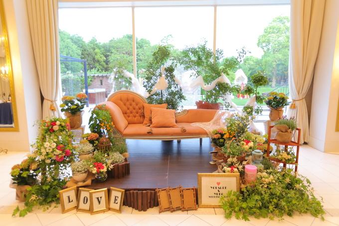 ☆ララシャンス博多の森☆〜ソファコーディネート〜福岡市博多区の結婚式・結婚式場|ララシャンス 博多の森 公式ブログ