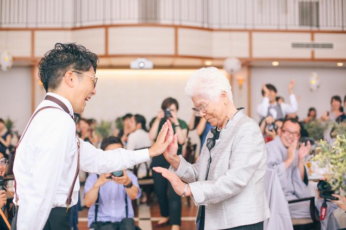 おばあちゃんの涙