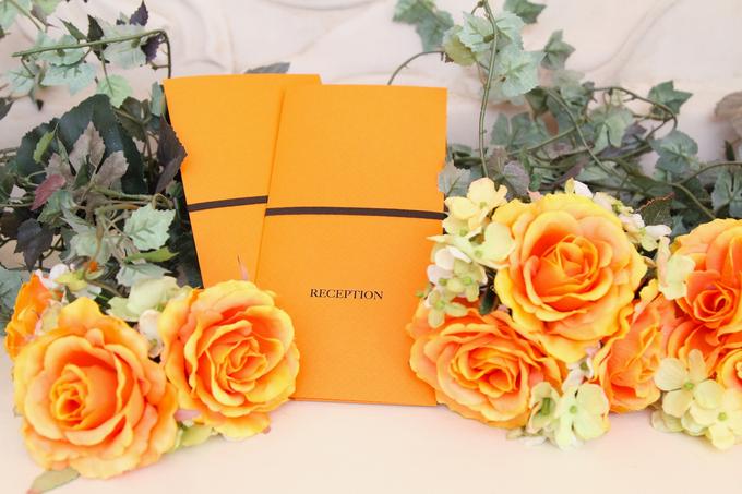 【大分県大分市の結婚式場ララシャンス迎賓館】~☆オレンジカラー☆~