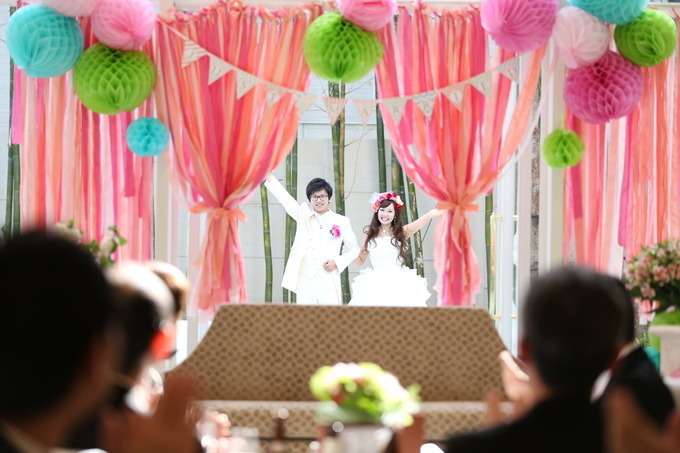 【大分県大分市の結婚式場ララシャンス迎賓館】~☆コーディネート☆~