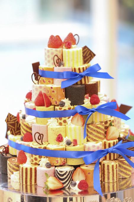 こだわりのウェディングケーキ☆