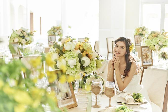 装飾にこだわる結婚式