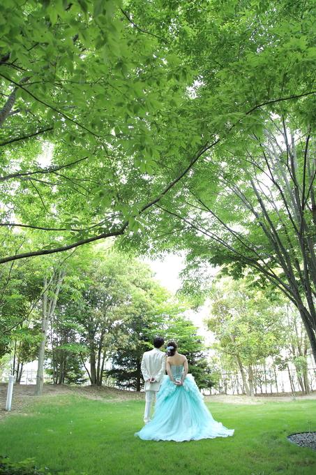 自然の中での結婚式【福島県の結婚式場ララシャンスいわき】