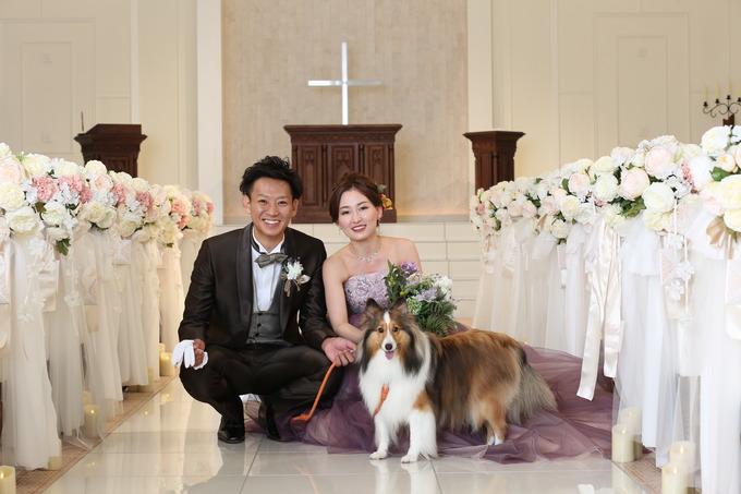 ペットと一緒のWedding♪【福島県の結婚式場ララシャンスいわき】