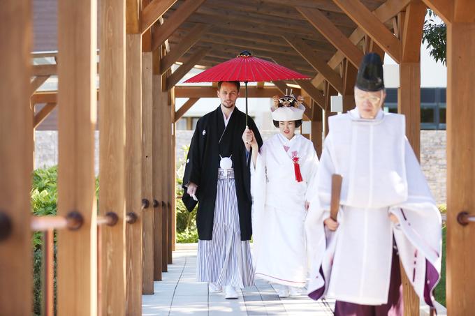 神前式【福島県の結婚式場ララシャンスいわき】