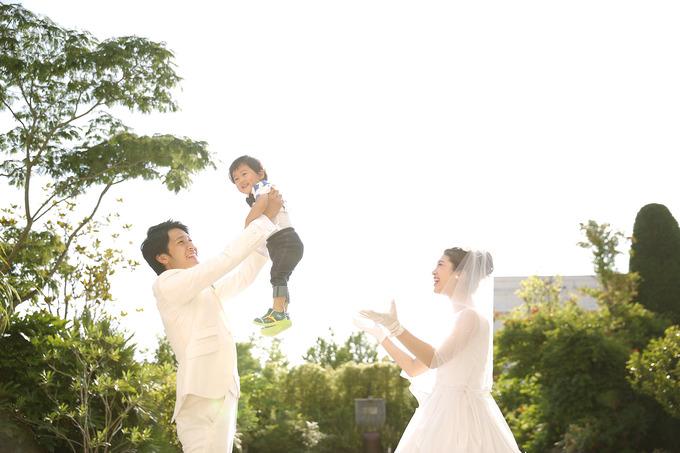 お子様と一緒に♪ 【福島県いわき市の結婚式場ララシャンスいわき】