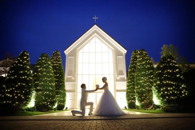 イルミネーション♪ 【福島県いわき市の結婚式場ララシャンスいわき】