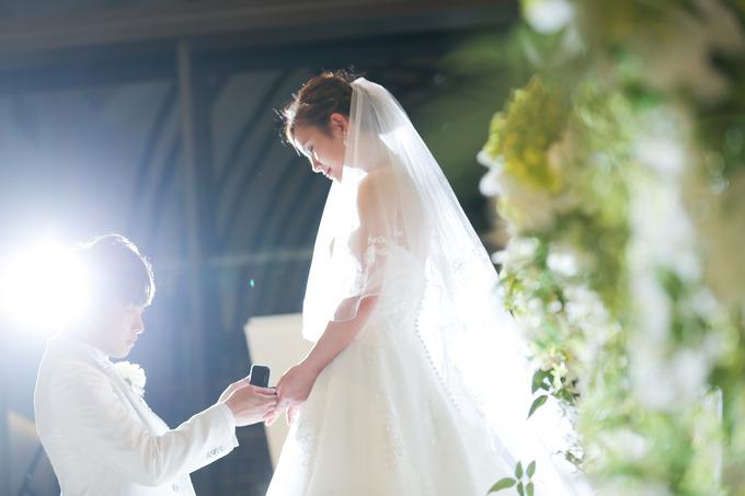 セミオーダードレスで人生に一度の結婚式を♪