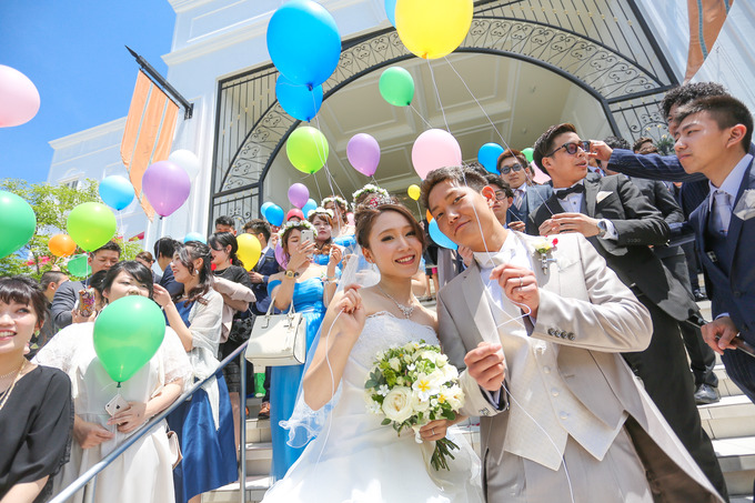 ララシャンスのシンボル大階段★【高知の結婚式場ララシャンス迎賓館】