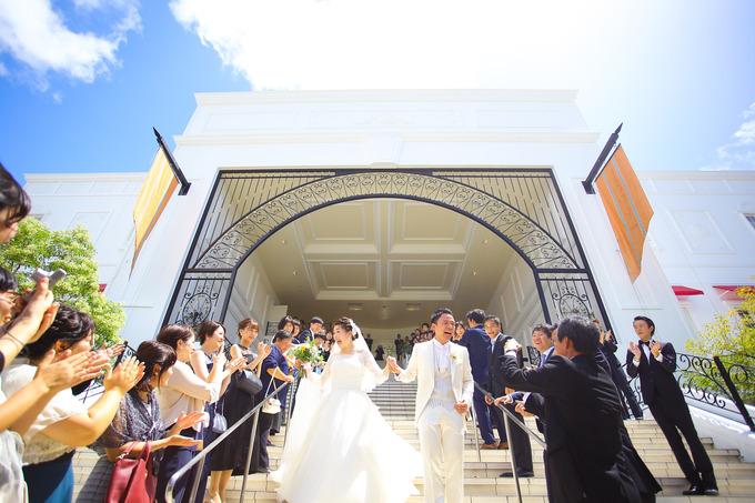 幸せが集まる大階段♪【高知の結婚式場ララシャンス迎賓館】