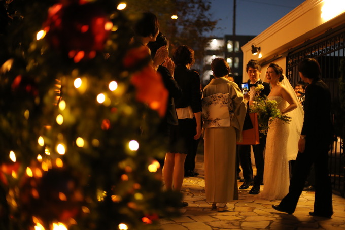 ララシャンスのウィンタークリスマス★【高知県の結婚式場ララシャンス迎賓館】