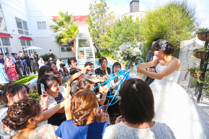 最高のロケーションで幸せのおすそわけ♪【高知の結婚式場ララシャンス迎賓館】