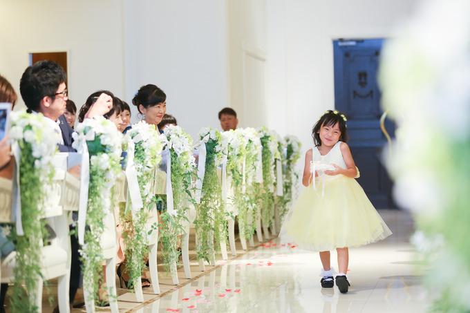 お子さまも最後まで楽しめる!こだわりの結婚式♪