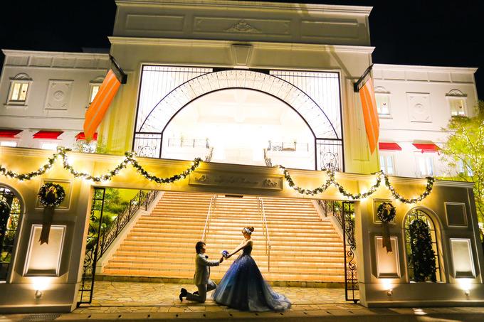 【夜のララシャンスでムーディーな結婚式★】高知県の結婚式場 ララシャンス迎賓館
