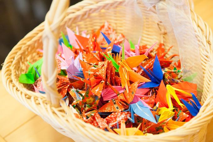 幸せの折鶴