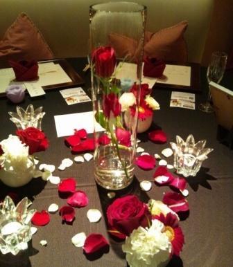 (2)一輪の赤いバラ