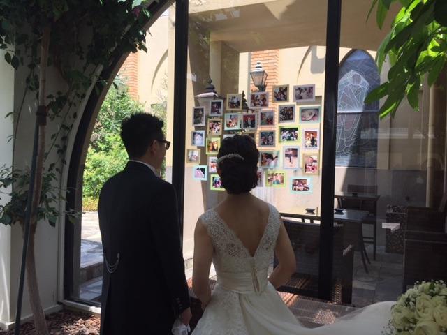 結婚式での1枚☆
