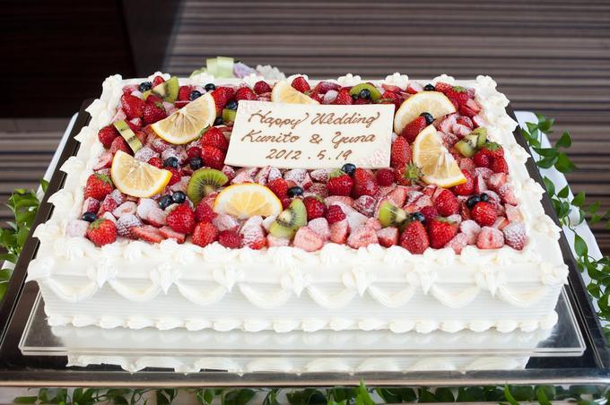 スクエア一段ケーキ