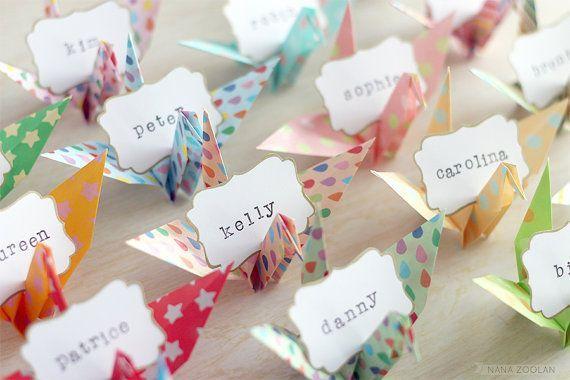 折り紙でゲストをあたたかく ...