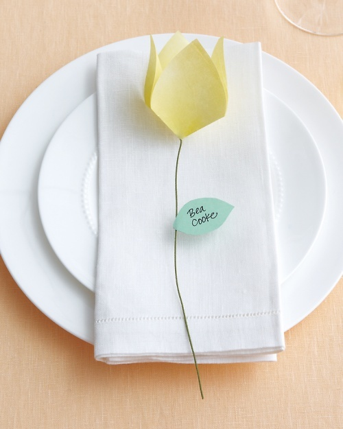 Origami place cards mwd108136 vert
