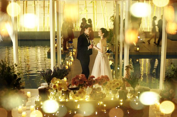 Dinner time wedding【岩手県盛岡市の結婚式場ララシャンスベルアミー】
