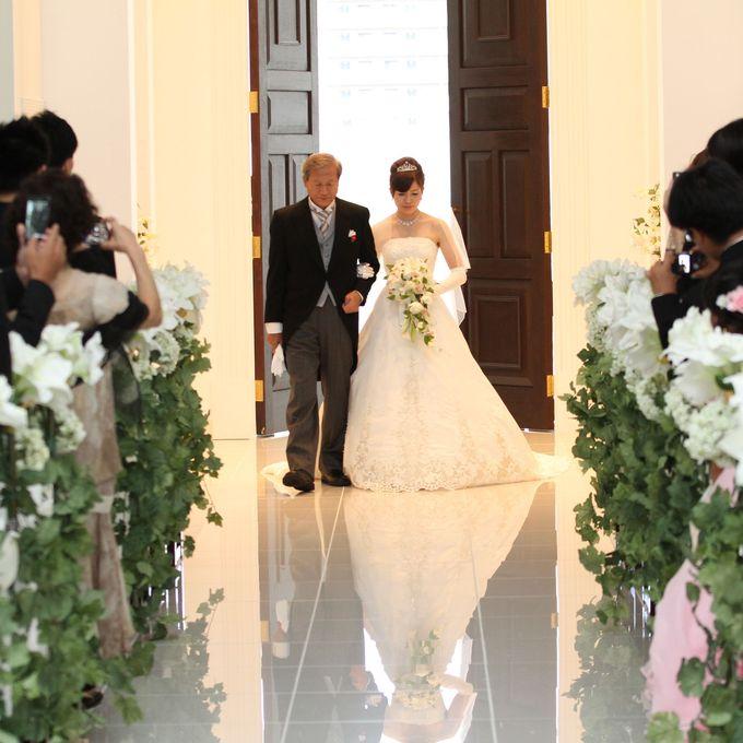 感謝の気持ちを伝えるなら【岩手県盛岡市の結婚式場ララシャンスベルアミー】