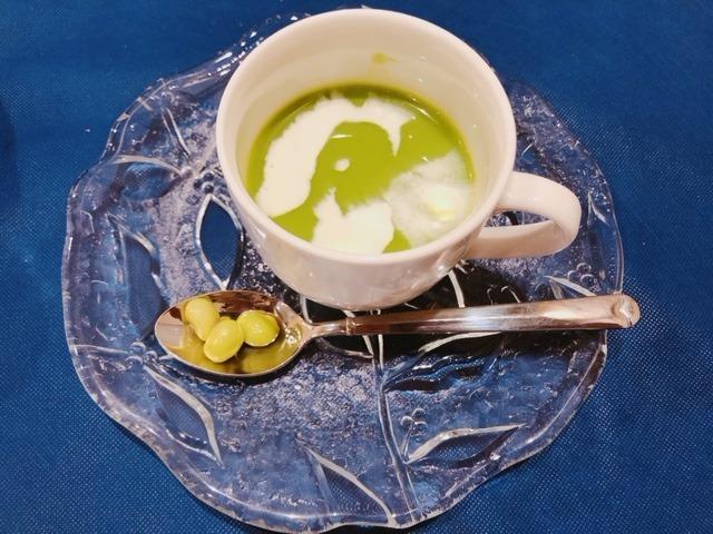 グリーンピーススープ.JPG