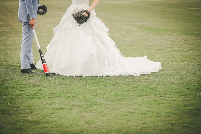 野球WEDDING!