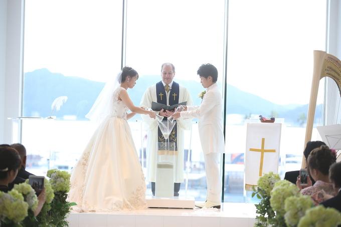 笑顔あふれる結婚式♪