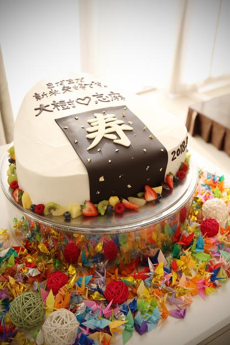 おにぎりケーキ