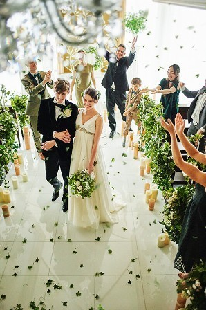 イメージにあったBGMで最高のご結婚式を♪